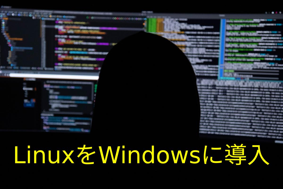 LinuxをWindowsに導入